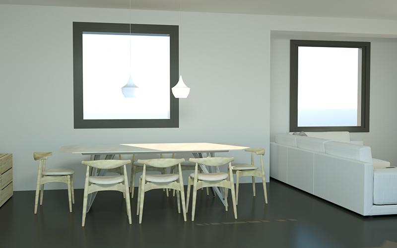 proyecto e infografia 3D en zaragoza salon